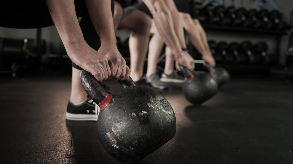 Kettle Bell Group Exercise